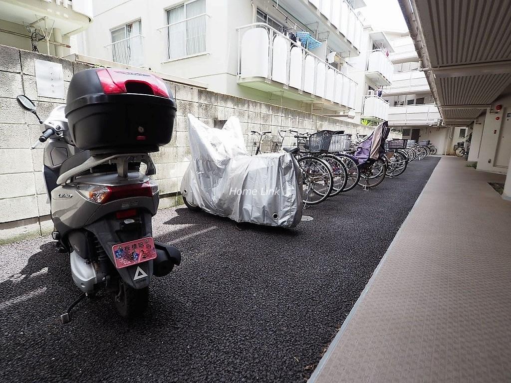 上板橋サンライトマンションF棟 駐輪場