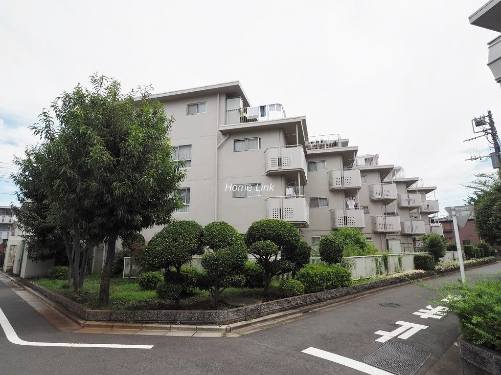 上板橋サンライトマンションF棟 前面道路