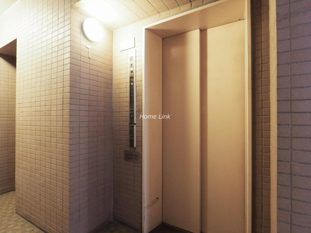 蓮根城北公園パークホームズ エレベーターホール