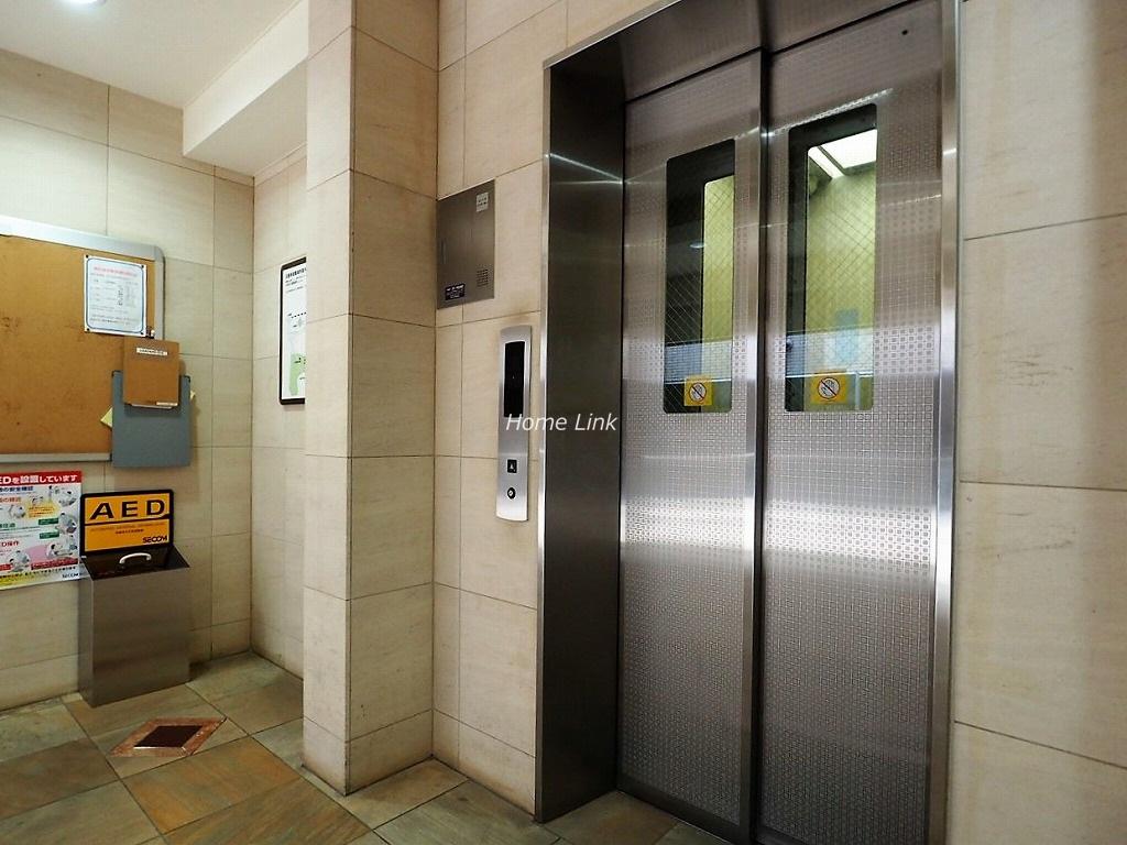 D'クラディアときわ台 エレベーターホール